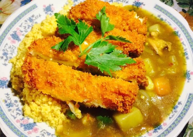 Resep: Kare japan with chicken katsu + nasi jagung enak