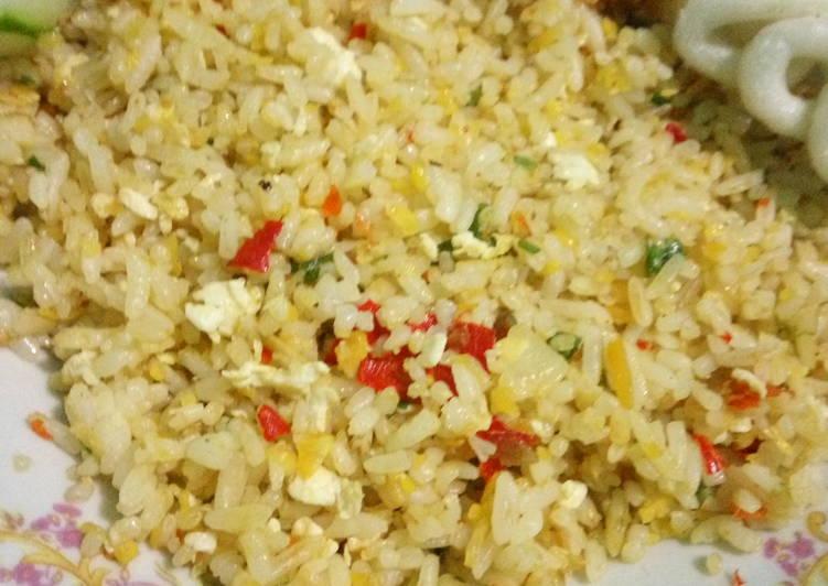 Resep: Nasi goreng daun bawang