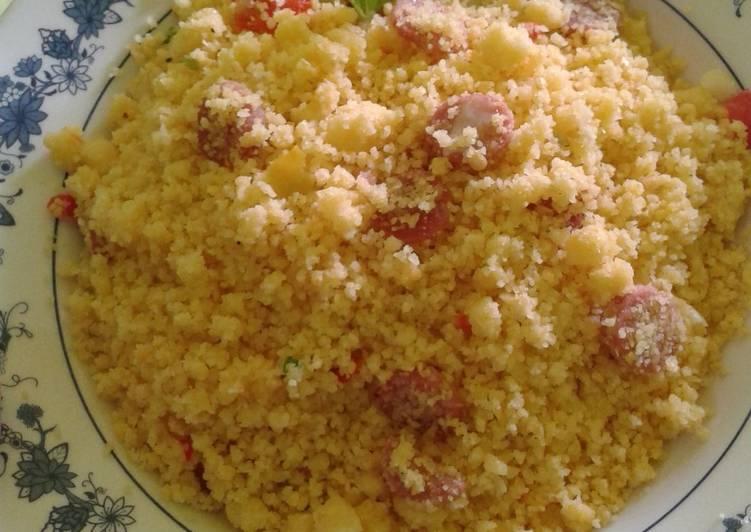 Cara memasak Nasi goreng jagung spesial lezat