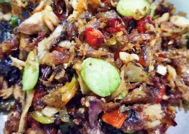Resep memasak Ikan asap sambel bawang