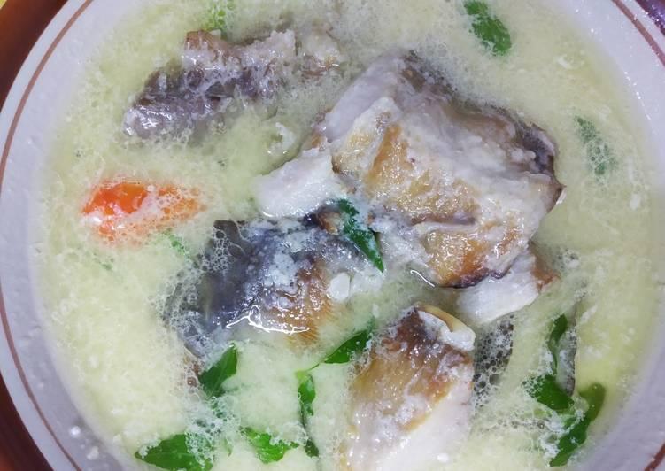 Resep: Ikan pari asap kuah santan istimewa