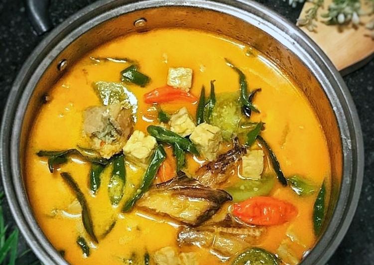 Cara Mudah memasak Kotokan Tempe ikan Asap lezat