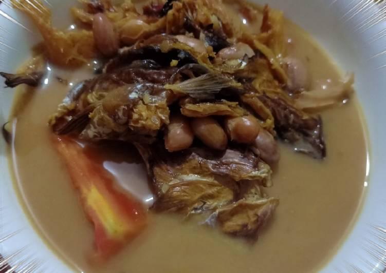 Resep: Gulai ikan asap mix kacang merah 🥜🐟