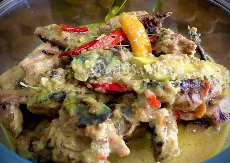 Resep: Cakalang Asap (fufu) masak Santan istimewa