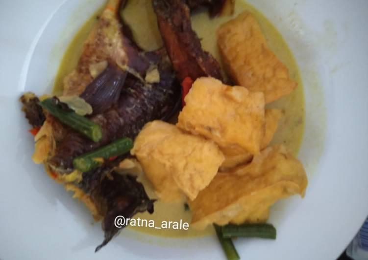 Cara memasak Mangut ikan gabus asap (bumbu iris)