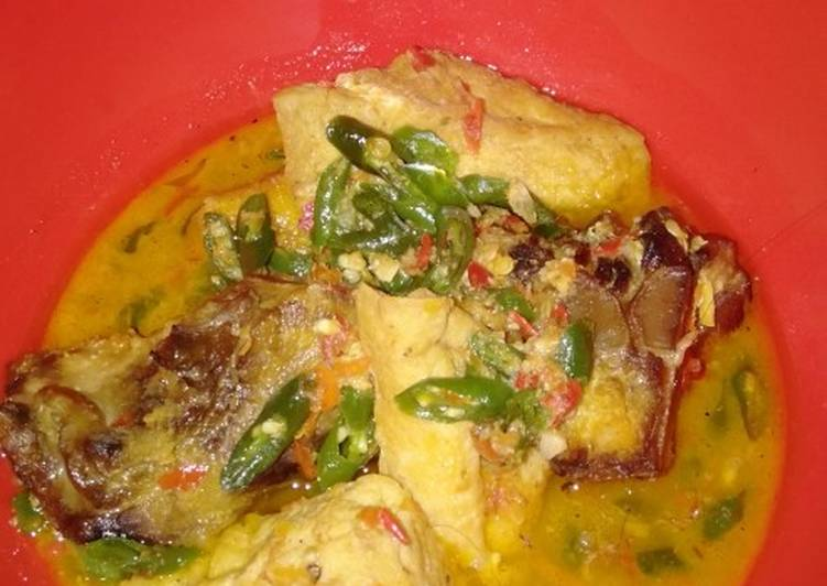 Resep: Ikan asap pedas mampus