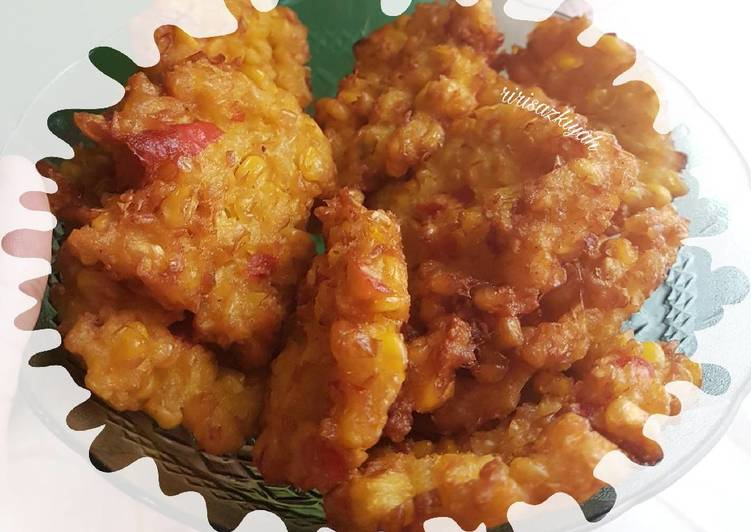 Resep: 🌽Dadar jagung / Perkedel jagung / Pelas enak