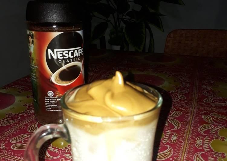 Resep: Dalgona ice cofee