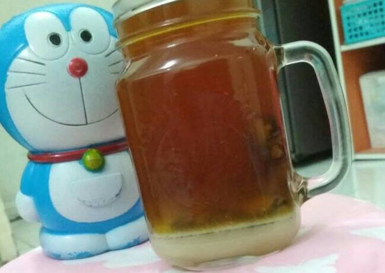 Resep: Wedang JAMESU (jahe merah susu)
