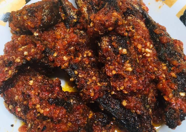 Resep mengolah Sambal ikan layang dan tongkol istimewa
