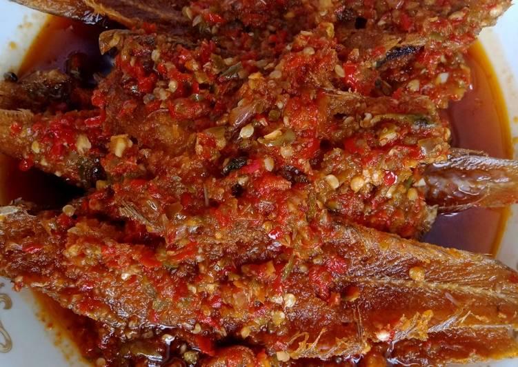 Resep: Sambal merah ikan lidah istimewa