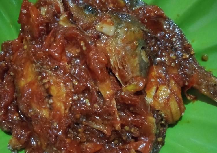 Resep: Sambal ikan asin