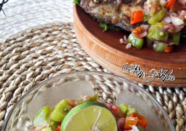 Resep: Sambal Dabu - Dabu Khas Manado lezat