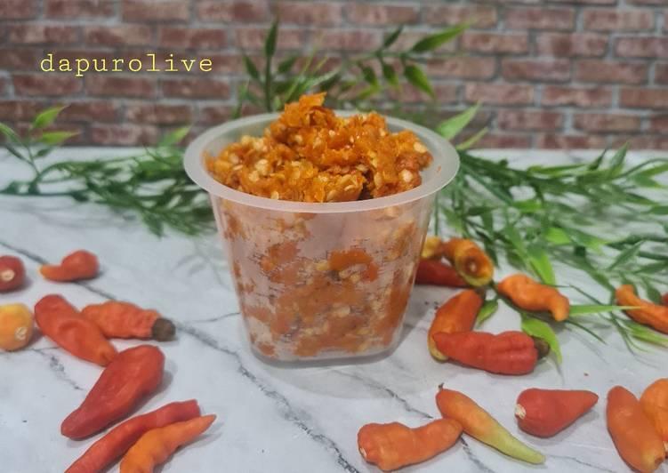 Resep: Sambal Cabe Soto, Rawon, Bakso dan Mie Ayam dll