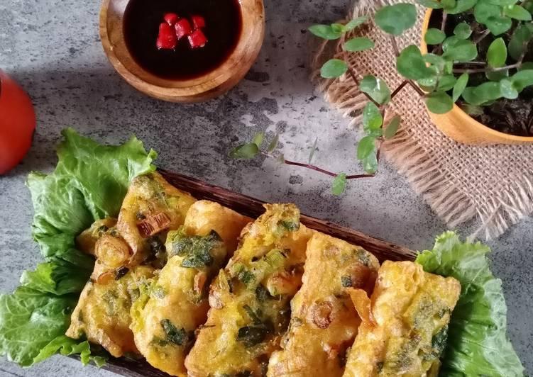 Resep memasak Tempe goreng tepung daun