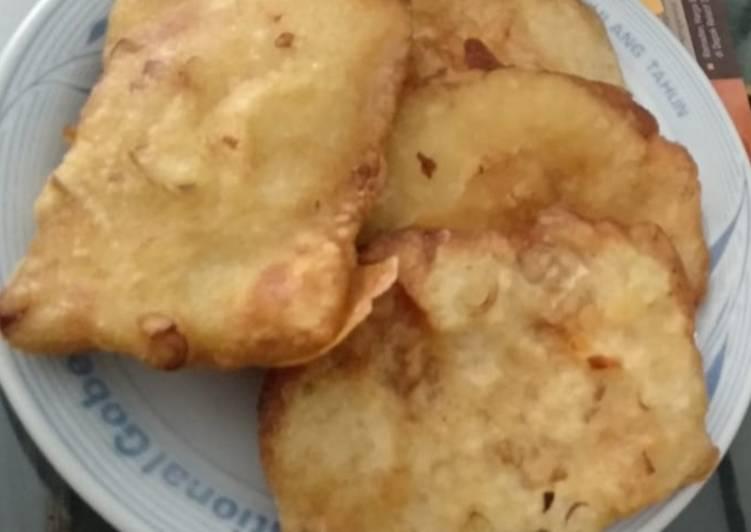 Resep: Tempe goreng tepung enak