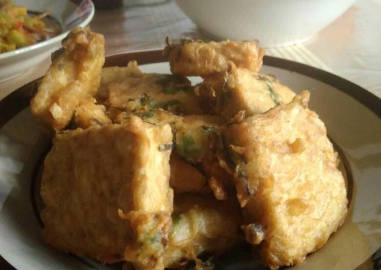 Resep: Tempe goreng tepung lezat