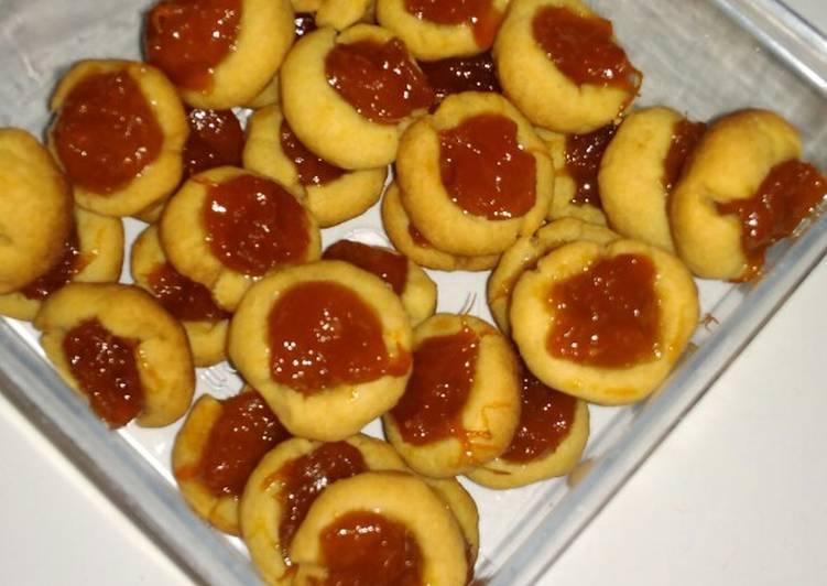 Resep: Nastar mangga (takaran sendok, no mixer, oven tangkring) lezat