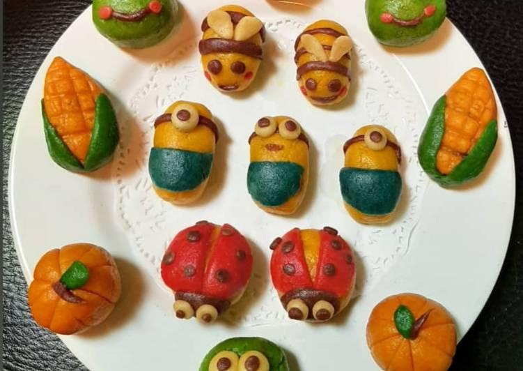 Cara memasak Nastar cookie karakter