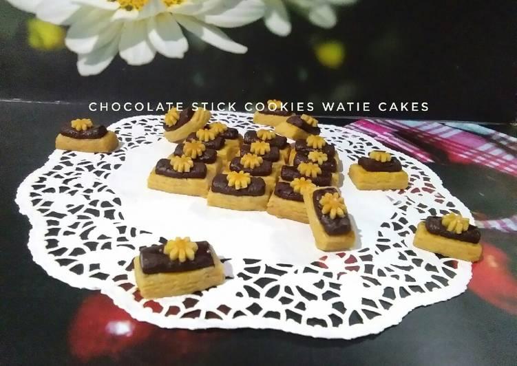 Cara Mudah memasak Chocolate stick cookies dan nastar tulip