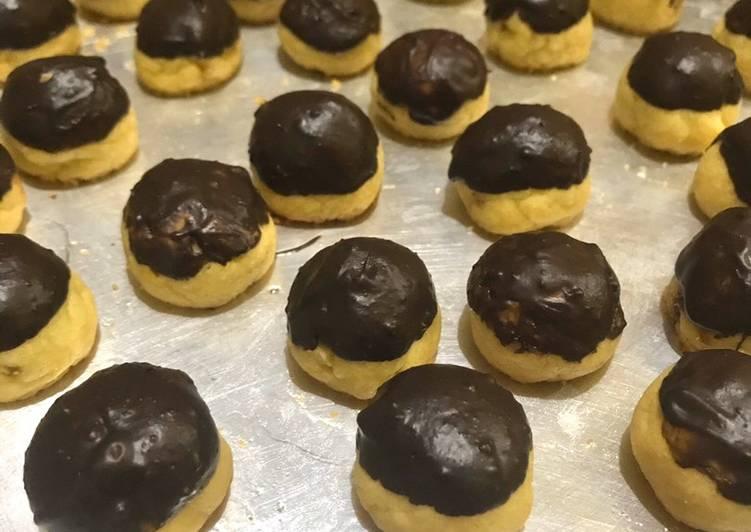 Resep: Nastar lembut toping coklat