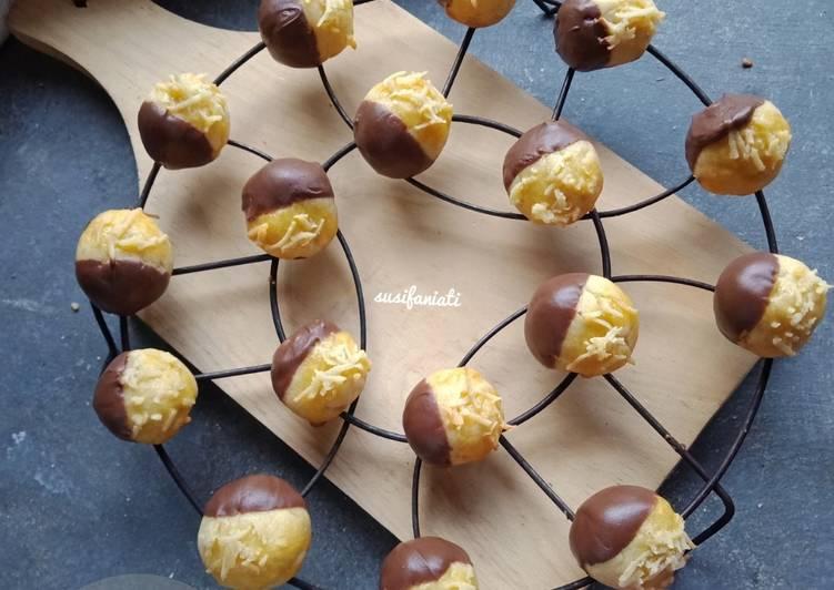 Cara mengolah Nastar coklat keju