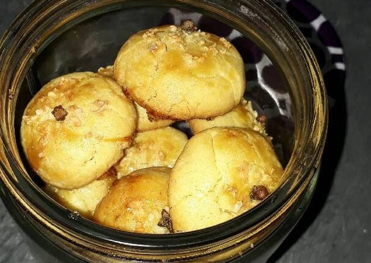 Resep memasak Nastar Keju Renyah Isi Coklat & Selai enak