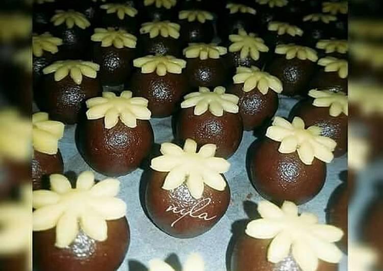 Cara Mudah membuat Nastar cokelat lezat