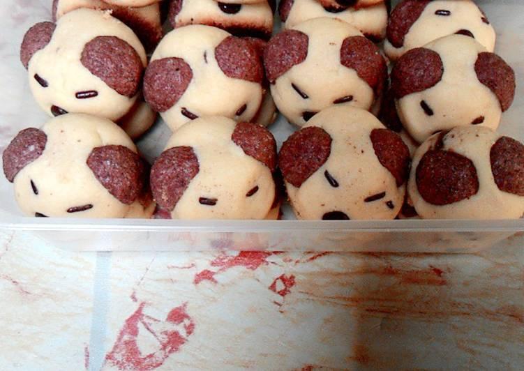 Cara Mudah memasak Nastar doggie isi coklat enak