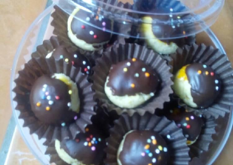 Nastar salut coklat
