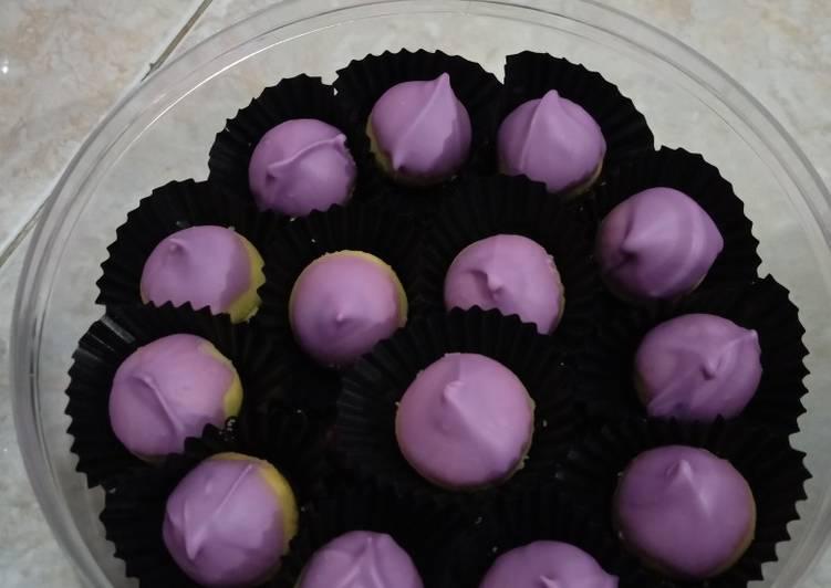 Resep membuat Nastar tanpa isi toping coklat