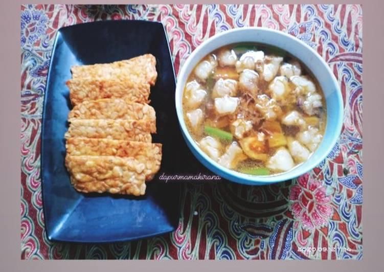 Cara Mudah memasak 57. Asem-asem daging sandung lamur sapi dan buncis Semarang istimewa