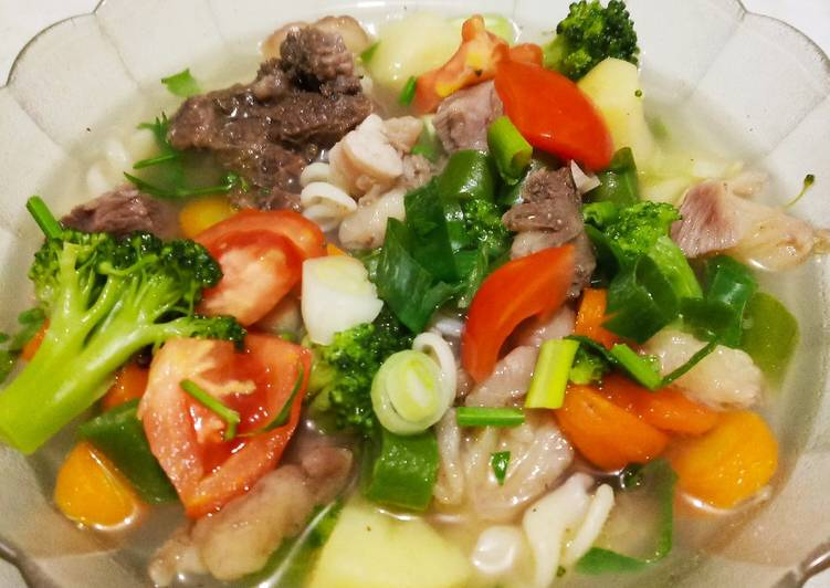 Resep: Sup tetelan sapi enak