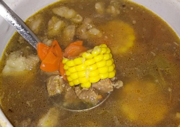 Resep membuat Sup tetelan sapi