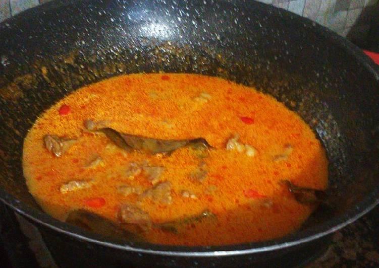 Cara membuat Sandung lamur kuah pedas lezat