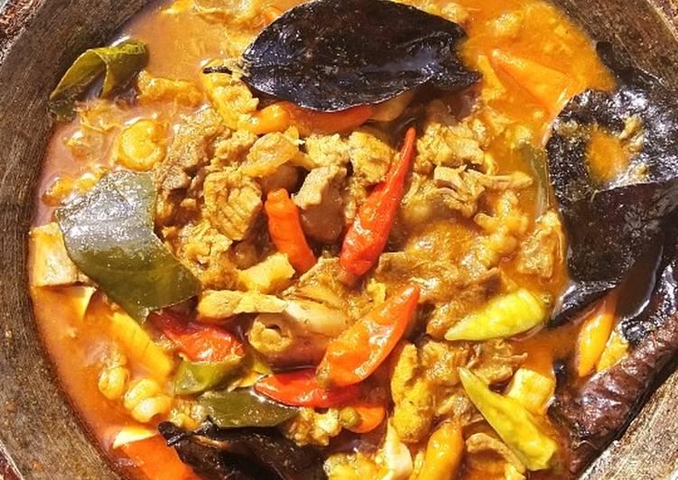 Cara memasak Oseng Mercon Tetelan sapi