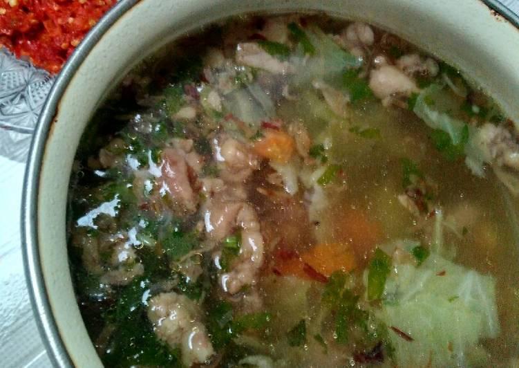 Resep: Sup tetelan sapi lezat