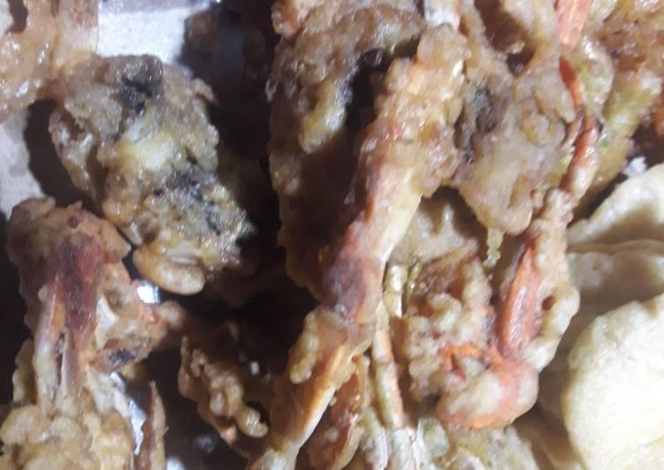 Resep: Kepiting goreng enak