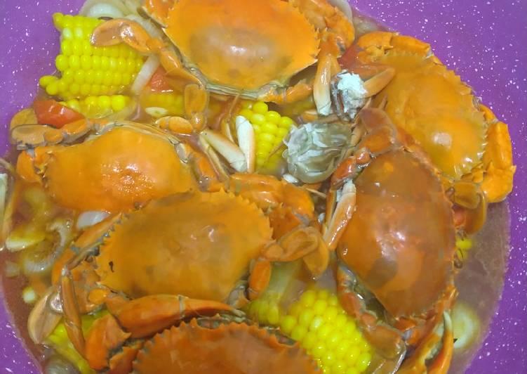 Cara Mudah membuat Kepiting asam manis istimewa