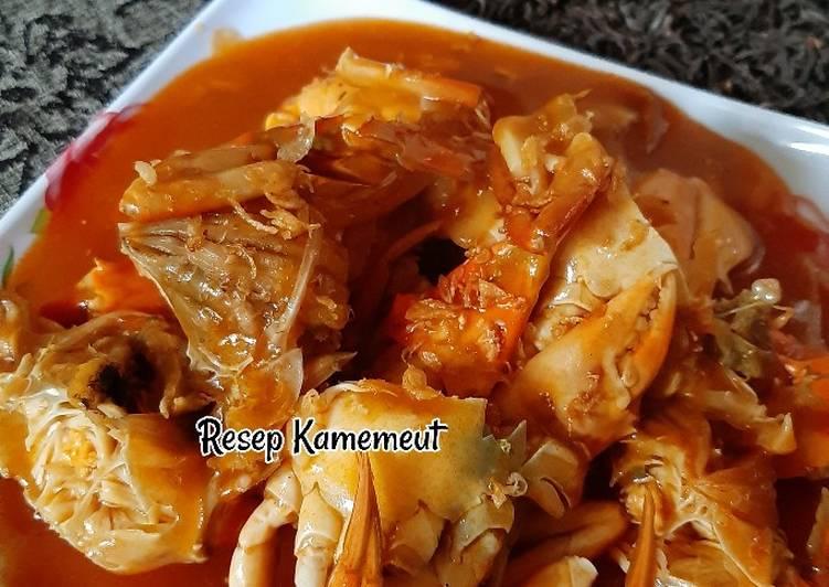 Cara memasak Kepiting asam manis