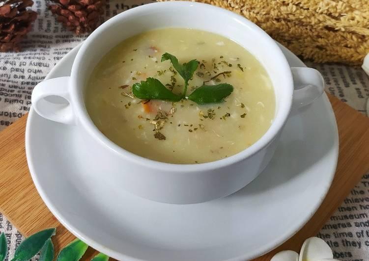 Resep: Cream Soup Kepiting dan Jagung