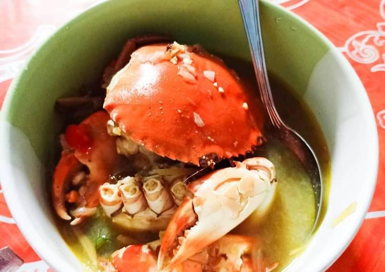 Cara Mudah membuat Kepiting Kuah Jahe ala Chinese Restaurant