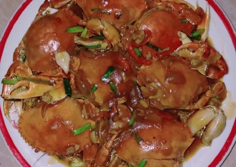 Resep membuat Kepiting saos lezat