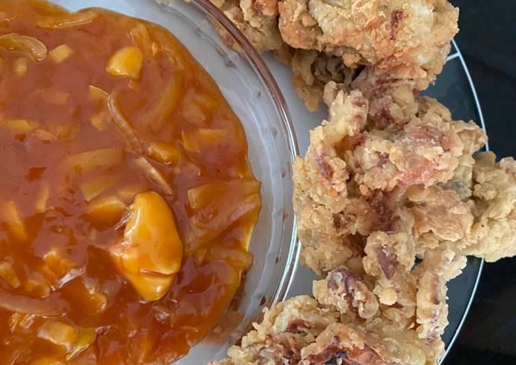Resep: Kepiting soka goreng saus asam manis enak