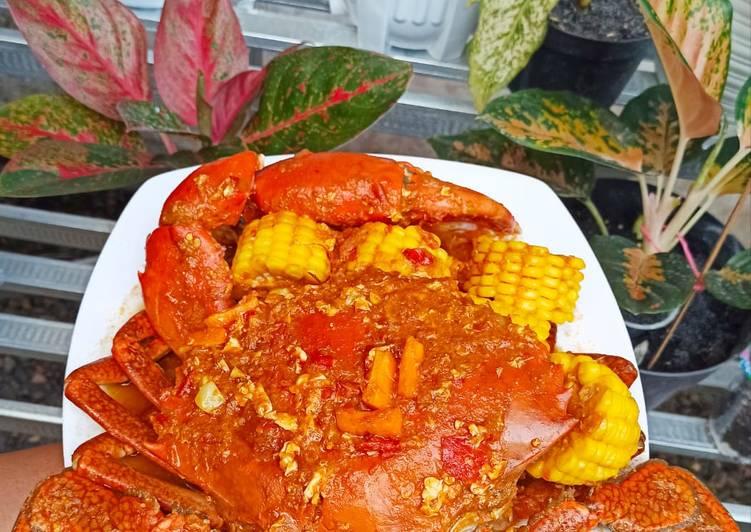 Resep: Kepiting saus padang enak