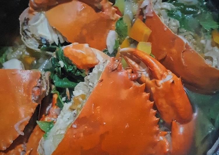 Resep membuat Asam kepiting daun singkil
