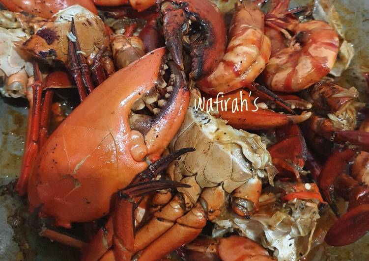 Resep: Kepiting saus pedas