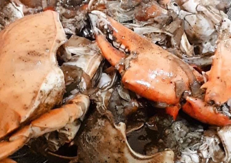 Resep: Kepiting Lada hitam lezat