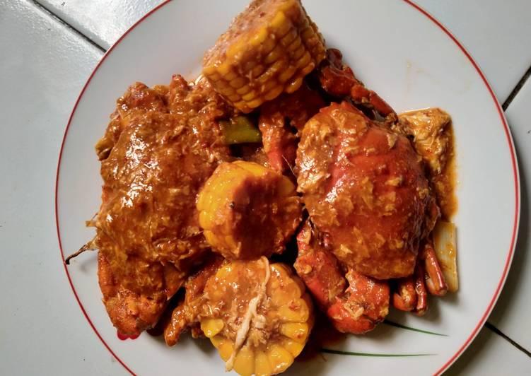 Resep memasak Kepiting saus padang