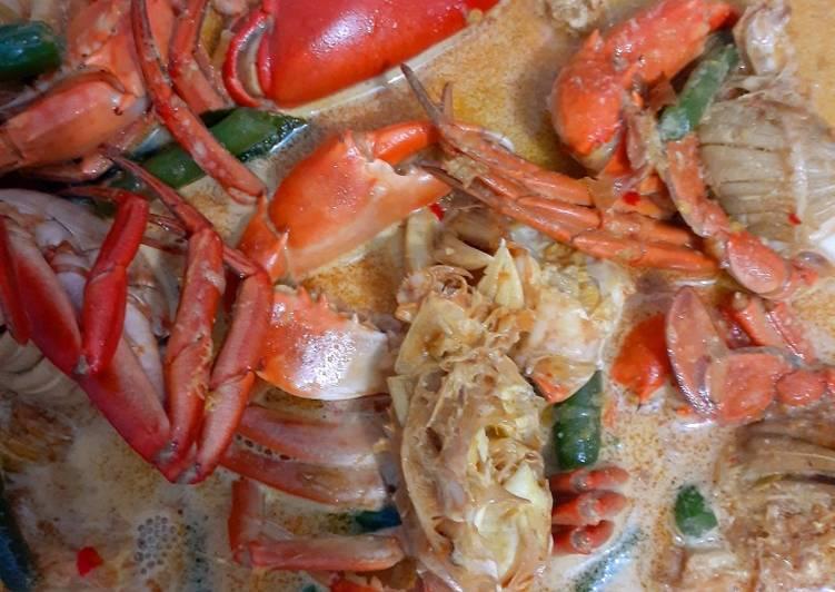 Resep: Gulai kepiting buncis istimewa